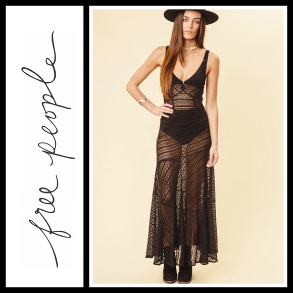 cf2cd4645bc4 Free People Dresses | Love Story Maxi Slip Dress Nwt | Poshmark